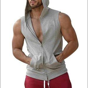 H&M Hooded Sweatshirt Vest